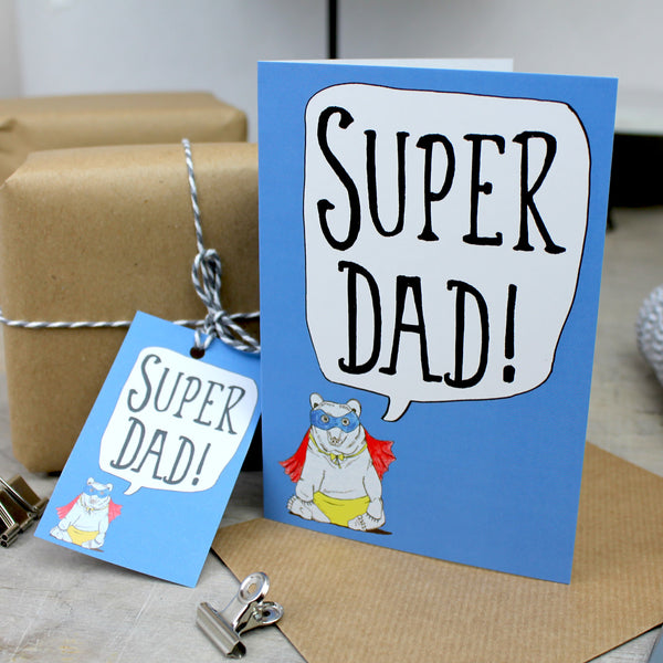 FREE Printable Gift Tag for Father's Day!