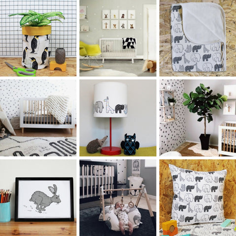 Neutral Nursery Decor Ideas