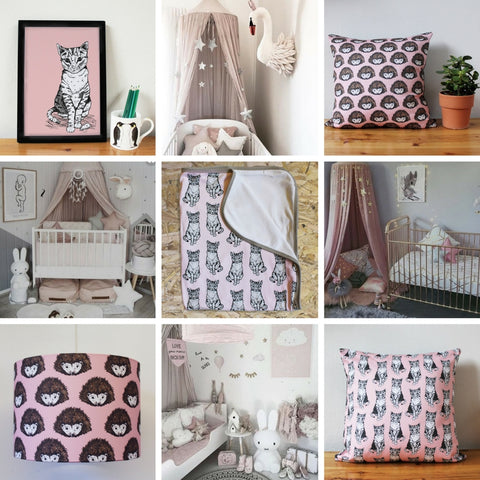 Pretty In Pink Nursery Ideas