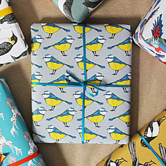 Gardening gift wrapping paper