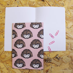 Hedgehog Notebook for Mother's Day Gift