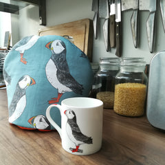 Turn a tea towel into a tea cosy