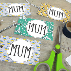 Downloadable Mother's Day Gift Tag