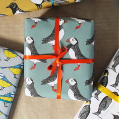 Puffin Wrapping Paper for him