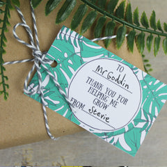Free printable Thank You Teacher Gift Tag
