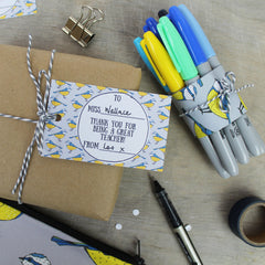 Free Teacher Gift Tags by martha and hepsie