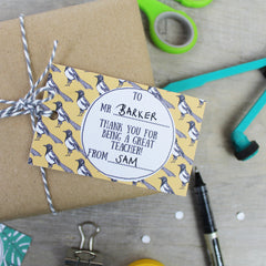 Free End Of Term Teacher Gift Tag