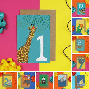 Number Nursery Wall Art