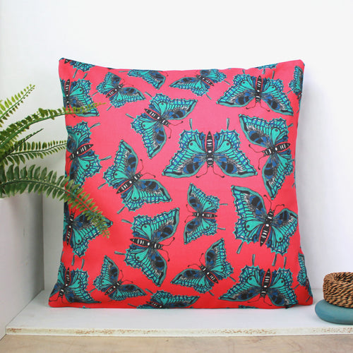 Butterfly Cushion - Martha and Hepsie