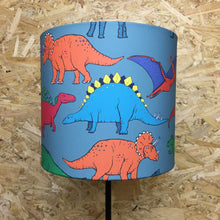 Load image into Gallery viewer, Dinosaur Drum Lampshade