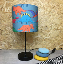 Load image into Gallery viewer, Dinosaur lampshade