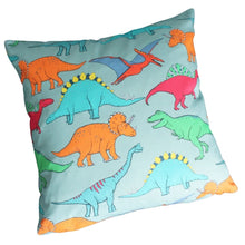 Load image into Gallery viewer, Dinosaur Multi Coloured Cushion