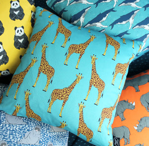 Giraffe Cushion - Martha and Hepsie