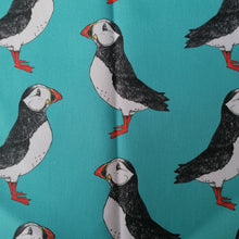 Load image into Gallery viewer, Puffin Fabric - Martha and Hepsie