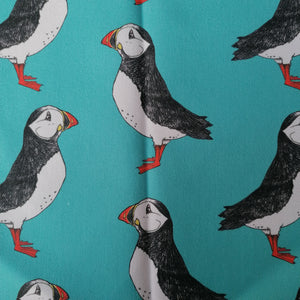 Puffin Fabric - Martha and Hepsie