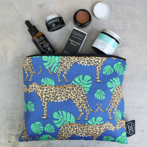Leopard Wash Bag