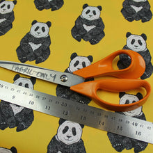 Yellow Panda Fabric - Martha and Hepsie