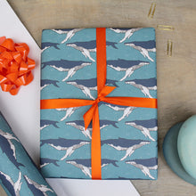 Load image into Gallery viewer, Whale Gift Wrap