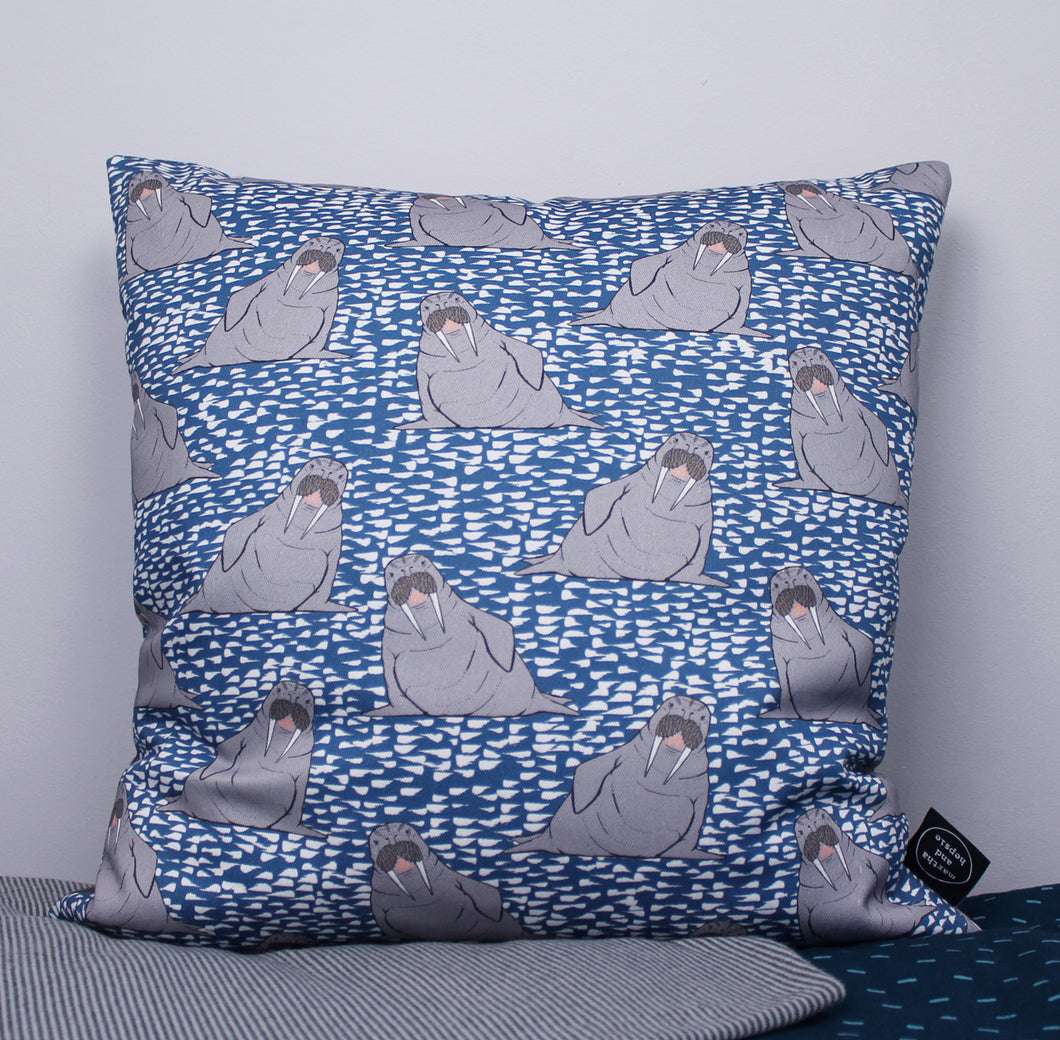 Walrus Cushion - Martha and Hepsie
