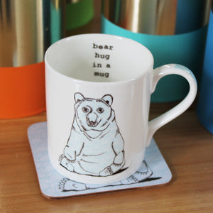 Bear Hug Mug - Martha and Hepsie