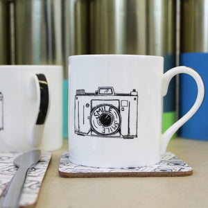 Camera Mug - Martha and Hepsie