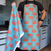 Load image into Gallery viewer, Crab Kitchen Apron - Martha and Hepsie