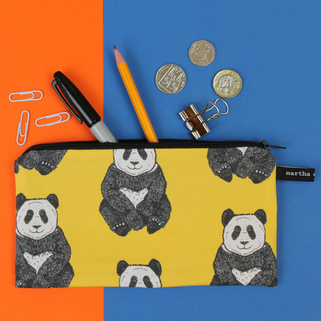Panda Pencil Case - Martha and Hepsie
