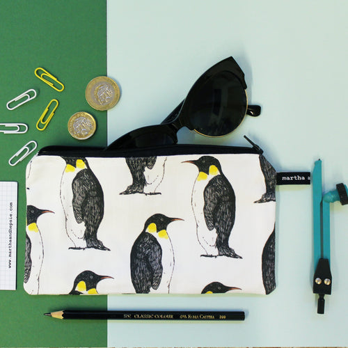 Penguin Pencil Case - Martha and Hepsie