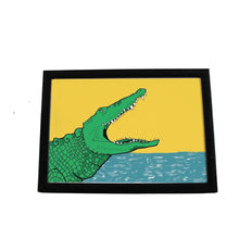 Load image into Gallery viewer, Crocodile A4 Art Print - Martha and Hepsie