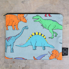 Load image into Gallery viewer, Dinosaur Wash Bag