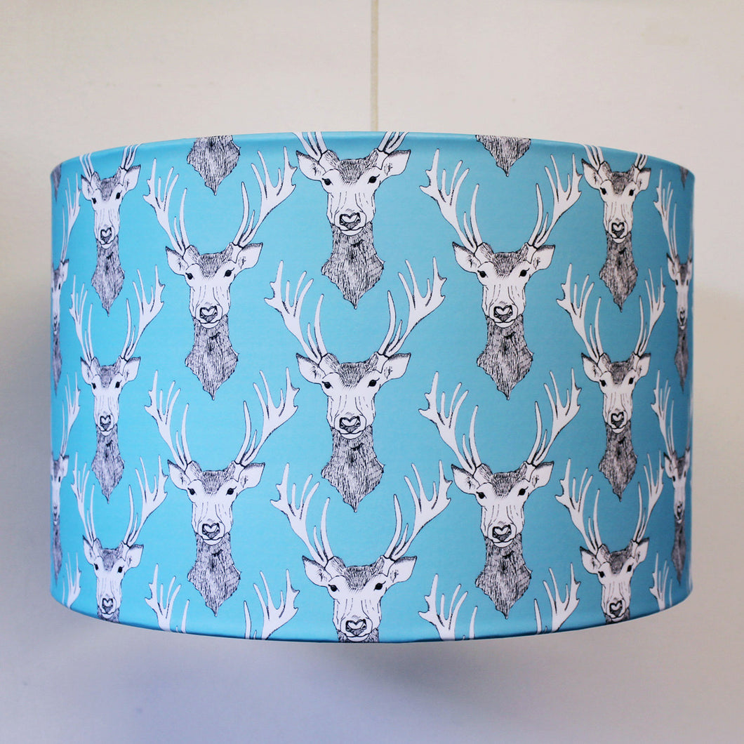 Stags Head Lampshade - Martha and Hepsie