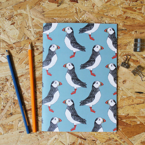 Puffin A5 Notebook - Martha and Hepsie