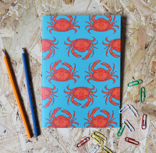 Crab A5 Notebook - Martha and Hepsie