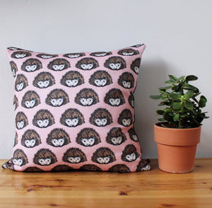 Pink Hedgehog Fabric