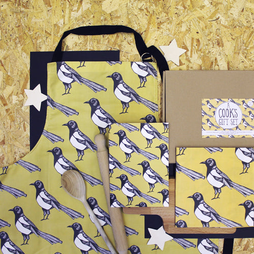 Yellow Magpie Cooks Gift Set - Martha and Hepsie