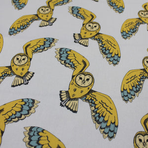 Owl Fabric - Martha and Hepsie