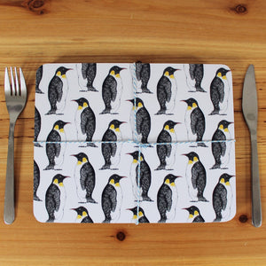 Penguin Placemat Set - Martha and Hepsie