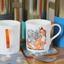 Load image into Gallery viewer, Fox Mug - Martha and Hepsie