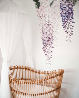 Wisteria Wall Decals - Perfectly Purple Set