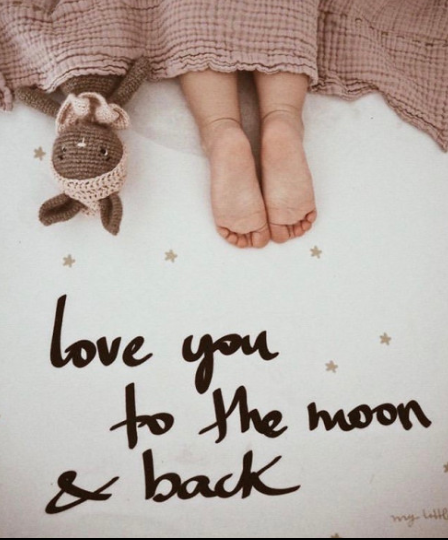 "Pre-order ""LOVE YOU TO THE MOON AND BACK"" -"