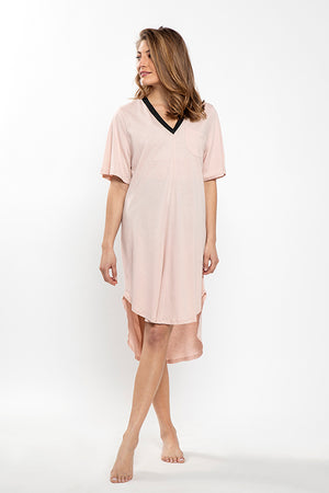 DAYA light grey- Beach Dress