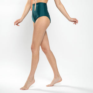 High waist underwear - Dark Green