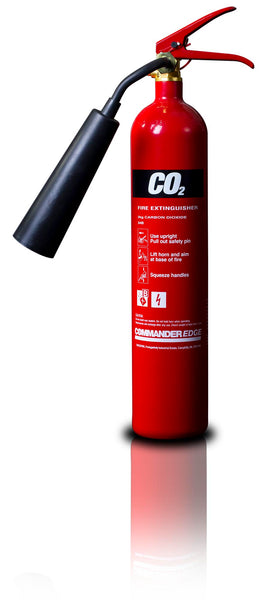 CommanderEDGE 2kg CO2 - Aluminium c/w horn - HartsonFire