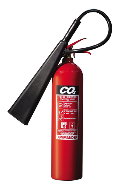 CommanderEDGE 5kg CO2 - Aluminium c/w hose - HartsonFire