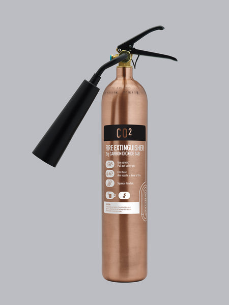 Commander Contempo 2kg CO2 - Antique Copper - HartsonFire
