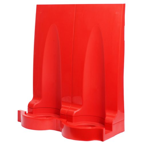 Modular Fire Extinguisher Stand - Double - HartsonFire