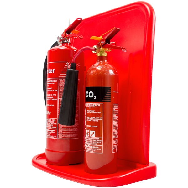 Double Jonesco Fire Extinguisher Stand - HartsonFire