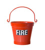 Fire Bucket & Lid - Metal - HartsonFire