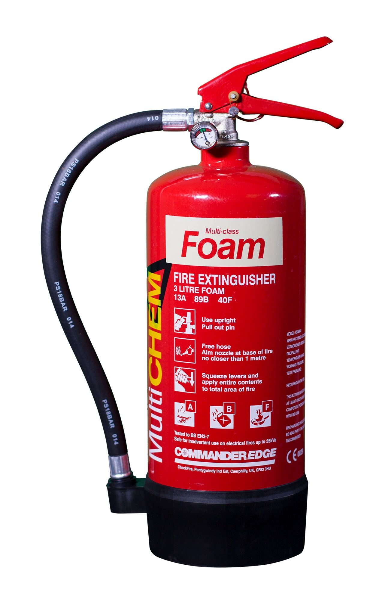 CommanderEDGE 3ltr MultiCHEM - HartsonFire