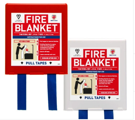1.1m x 1.1m Fire Blanket Jactone Heavy Duty